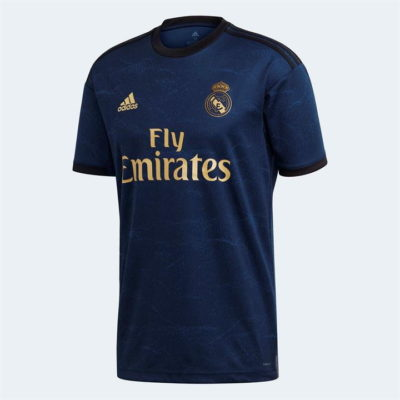 Real Madrid away jersey for 2019/2020 season. re your favourite club with this sleek jersey from Coraysa.